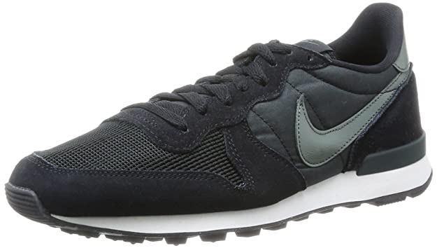 f0d1d1e05ff7 Nike Mens Internationalist Trainers Black Schwarz (Black Dark Mica  Green-Sl-Anthracite) Size  41  Amazon.co.uk  Shoes   Bags