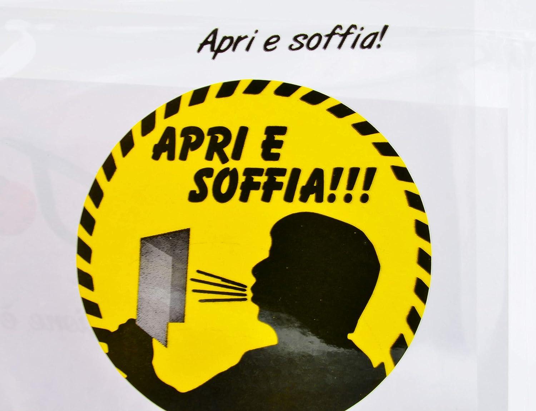 Soffia le candeline 1 pezzo Italian Joy 88-120 Biglietto Augurale con Sensore a Soffio