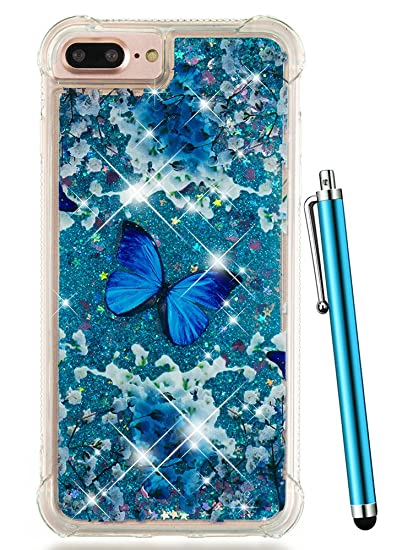 Amazon.com  iPhone 8 Plus Case Glitter 6089040d56ec