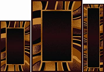 Amazon Home Dynamix Area Rugs Ariana Collection 3 Piece