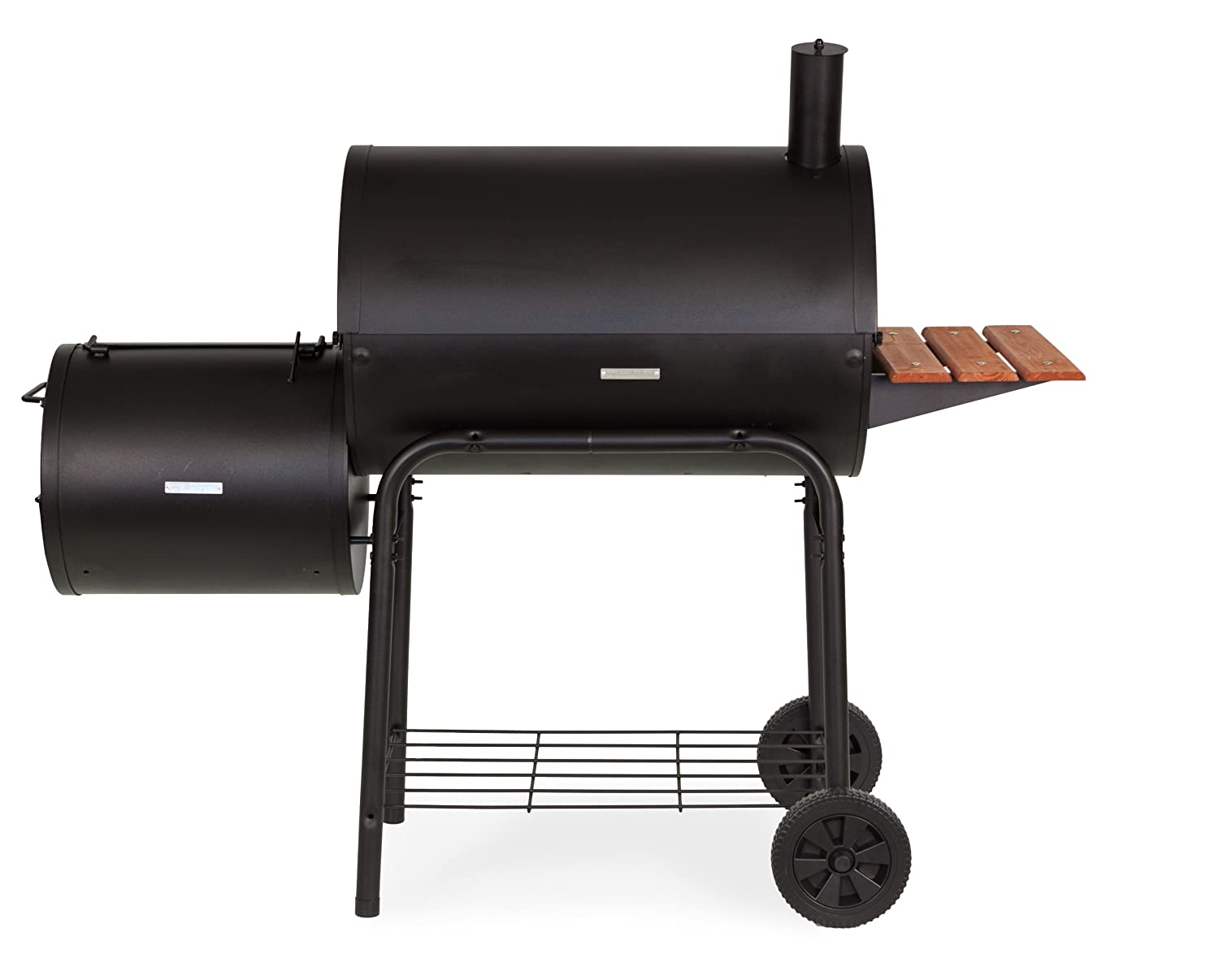 Char griller professional grill and smoker - Amazon Com Char Griller 1224 Smokin Pro 830 Square Inch Charcoal Grill With Side Fire Box Freestanding Grills Garden Outdoor