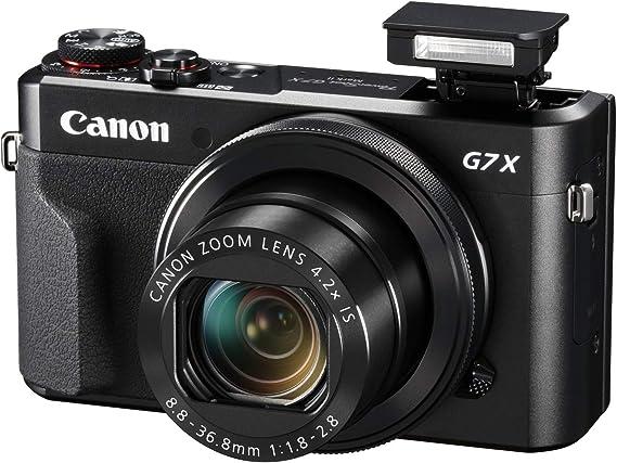 Canon Powershot G7X Mark II - Cámara Digital (32gb, procesamiento ...