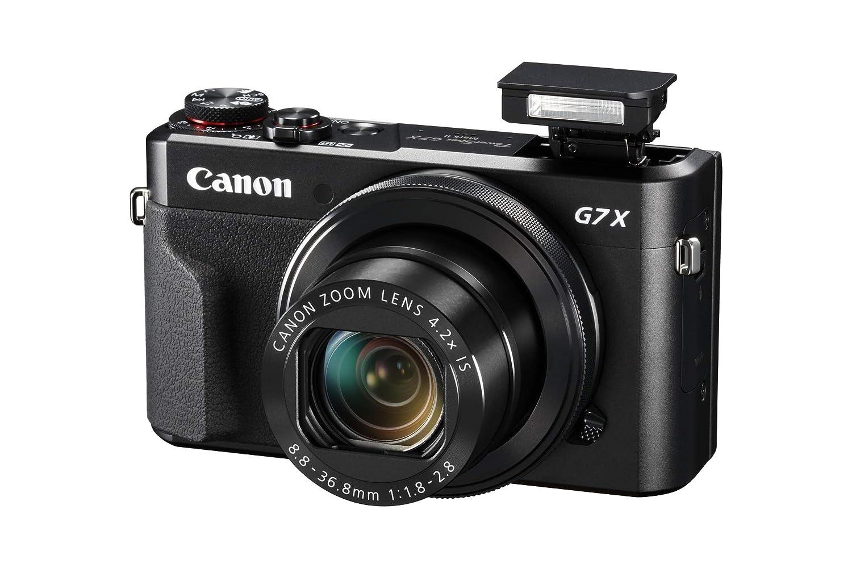 Canon Powershot G7X Mark II - Cámara Digital (32gb, procesamiento DIGIC, Sensor CMOS de 20.1 megapíxeles, vídeos 1080p) Negro, Kit con Tripod: Amazon.es: ...