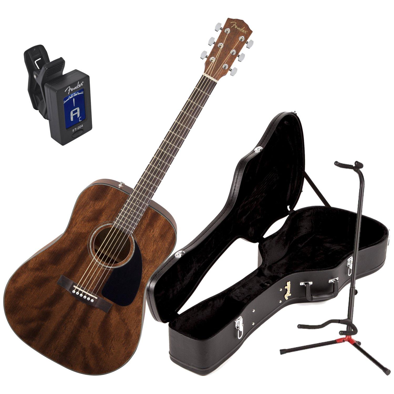 Fender 0961596221 CD-60 todos Guitarra Acústica (Madera de ...