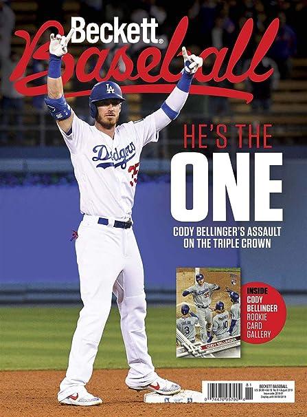 Amazoncom Magazine Beckett Baseball Card Plus