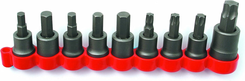 9-Piece CTA Tools 1485 Disc Brake Caliper Bolt Socket Set