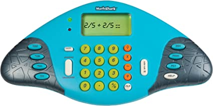 Math Shark Electronic Math Game Addition Subtraction Multiplication Division
