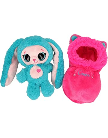 dbfc68a4d30f Depesche 10638 Plush Toy Ylvi and the Minimoomis Cooco in Sleeping Bag,  Approx. 20