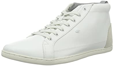 Trilyn Sh Lea WHT, Mens Hi-Top Trainers Boxfresh