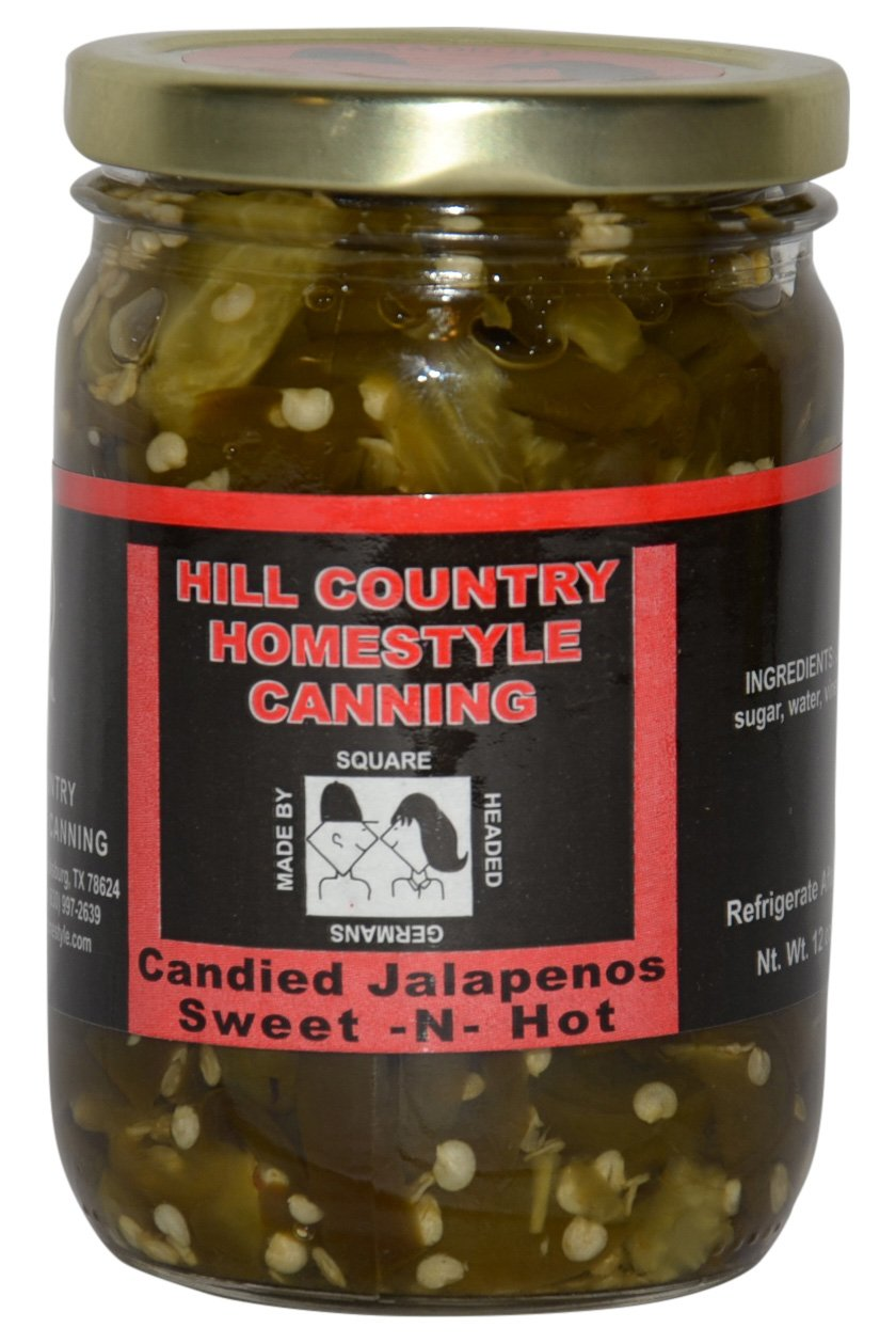 Texas Hill Country Candied Jalapenos