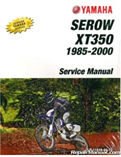 1993 2000 yamaha xt225 serow factory service manuals