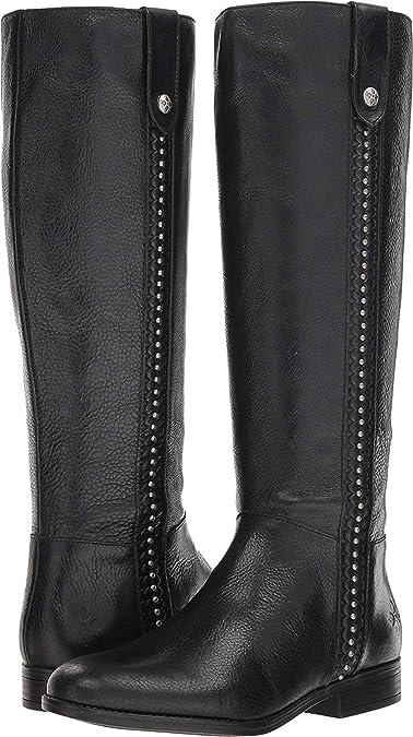 dbac3c68849 Amazon.com | Patricia Nash Womens Carlina Leather Closed Toe Knee ...