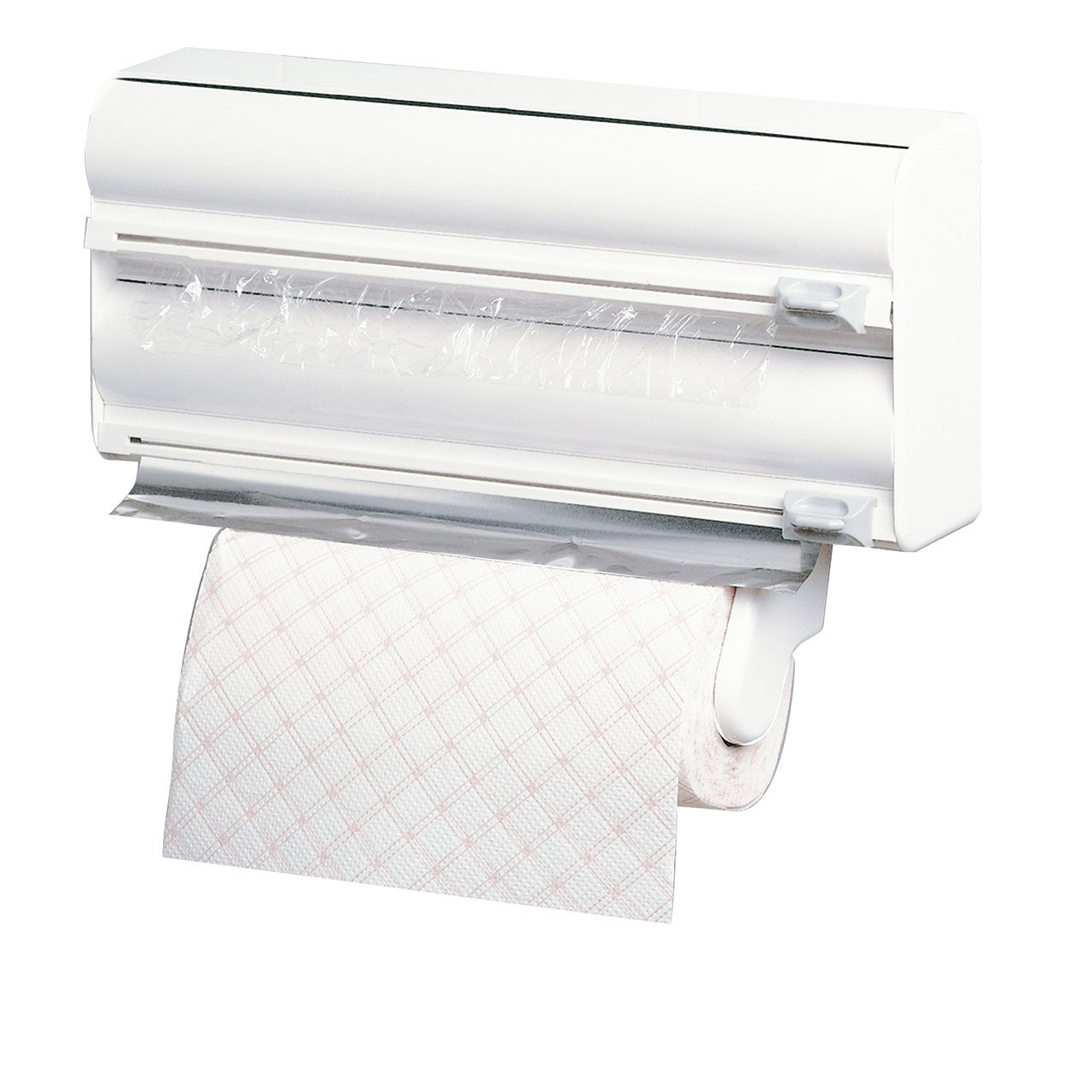 """Rayen Kitchen roll Holder, ABS, White, 15""""x4""""x10"""""""