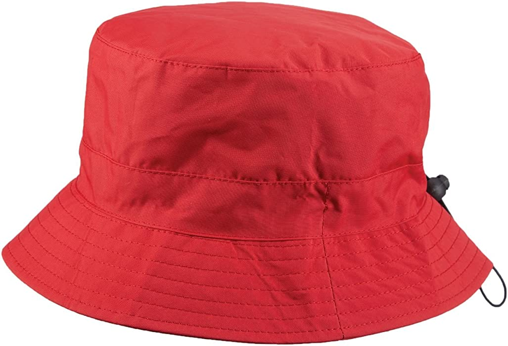 SCALA Packable RAIN HAT (RED) at Amazon Women s Clothing store  f623298f09e