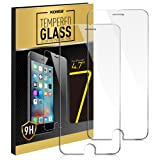 iPhone 7 Screen Protector, Kollea 2-Pack Premium Tempered Glass Screen Protector for iPhone 7 - 4.7 inches [3D Touch, 0.3mm, 9H Hardness]
