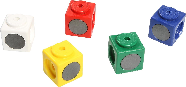 Dick Syst/ème de 341010/10/G/éant Cubes /à embo/îter magn/étique longueur dar/ête 3.4/cm Bleu