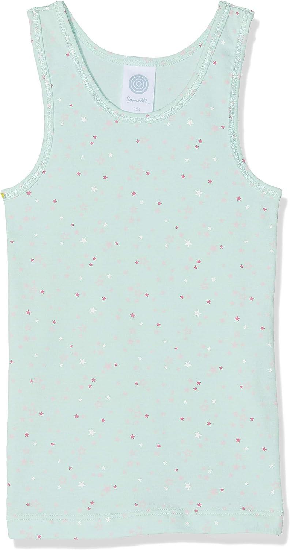 Sanetta Shirt W//O Sleeves Allover Canottiera Bambina