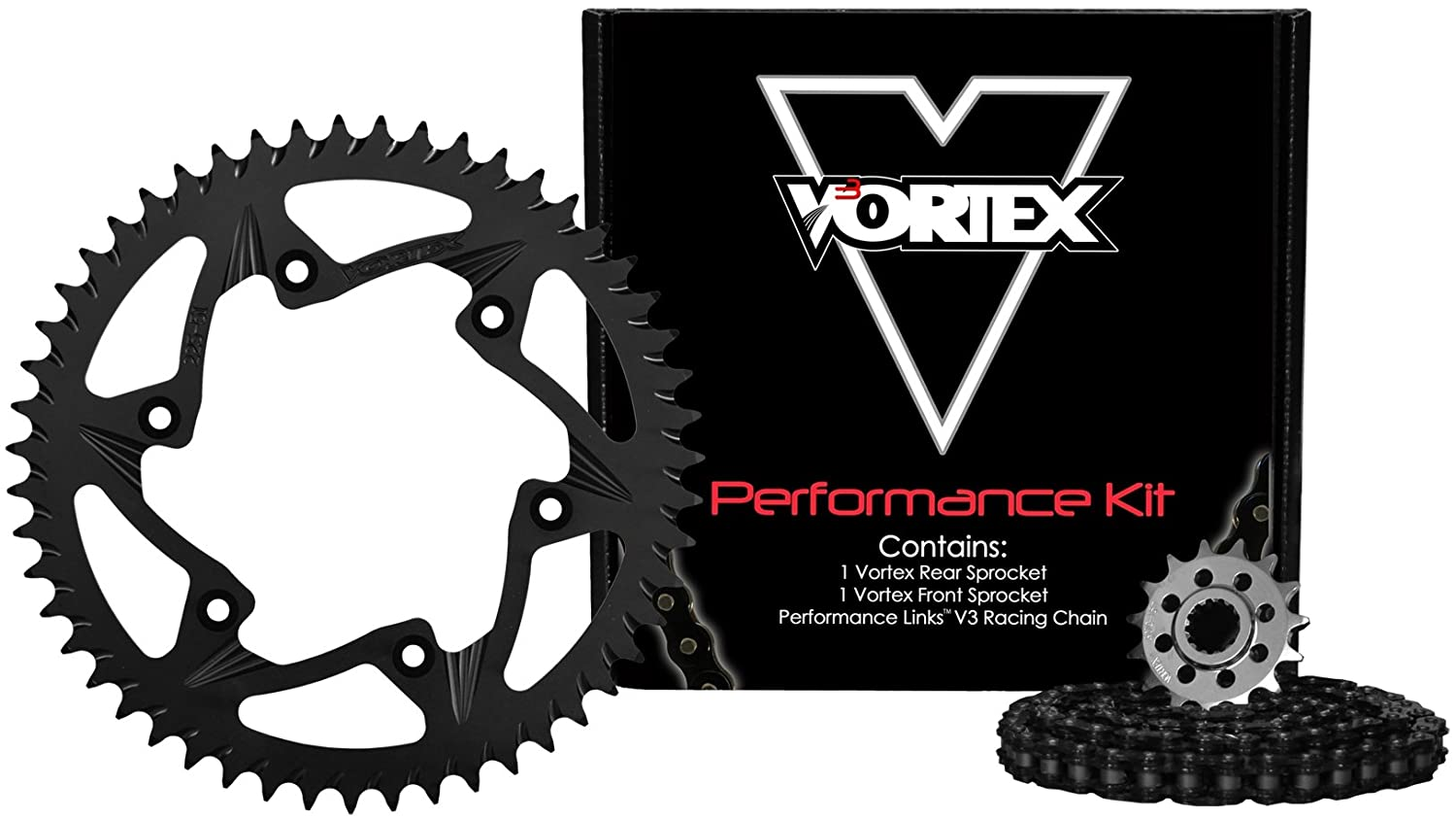 Vortex CK4203 Chain and Sprocket Kit
