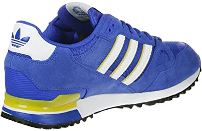 best service 18a52 93525 adidas Originals ZX 750, Blue-Footwear White-EQT Yellow, 3,5