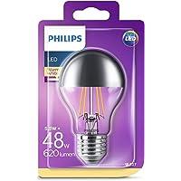 Philips LED Classic 48W A60 E27 Non-Dim 2700K Yarım Aynalı LED Filament Ampul
