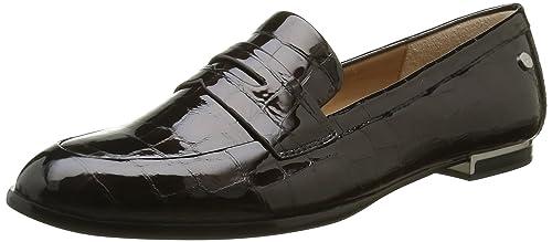 Calvin Klein Celia Croco Patent, Mocasines para Mujer, Negro (Blk), 41 EU: Amazon.es: Zapatos y complementos