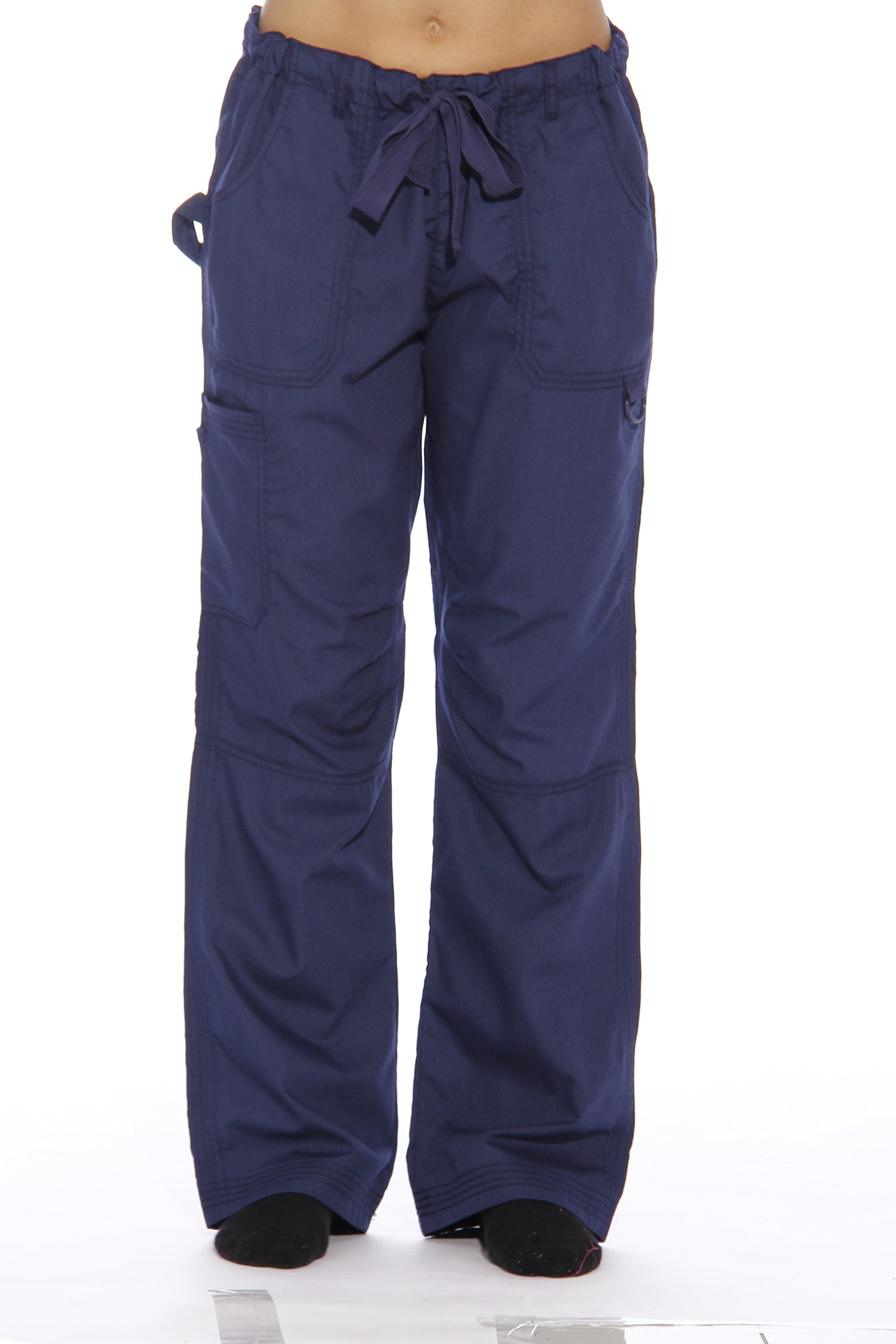 24000PNVY-S Just Love Women's Utility Scrub Pants / Scrubs, Navy Utility Pant, Small