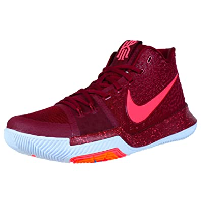 info for 459c7 8c6f9 Nike Kyrie 3 Men s (The Warning) Team Red White ...