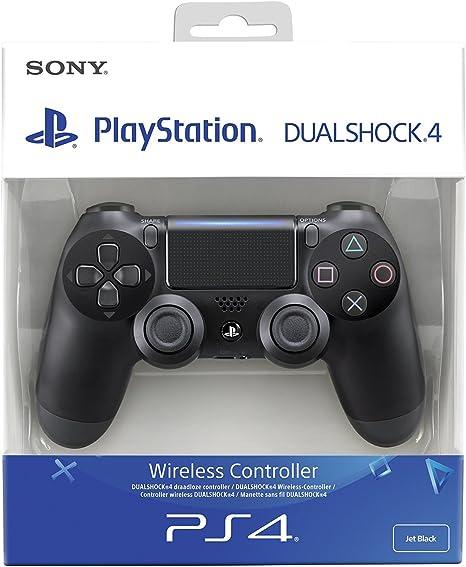 Sony - Dualshock 4 V2 Mando Inalámbrico, Color Negro V2 (PS4): Sony: Amazon.es: Videojuegos