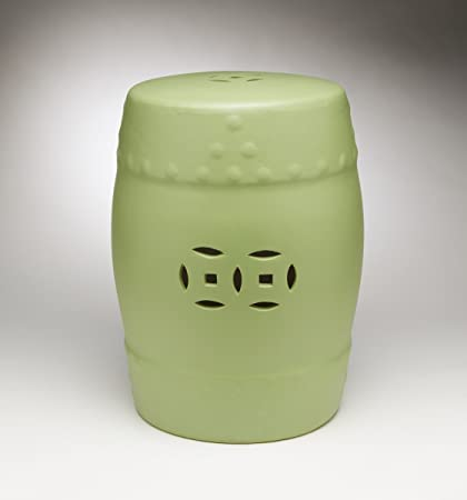Zeckos Ceramic Garden Stools Aa Importing 59918 Gn Ceramic Garden Stool 12  X 18 X