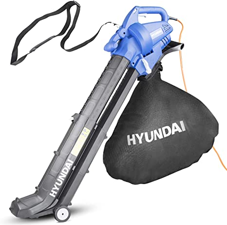 Hyundai HYBV3000E 3 in Electric Leaf Blower Vacuum & Shredder - Top Pick