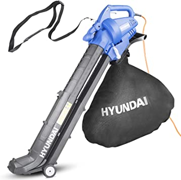 Hyundai HYBV3000 Leaf Blower Vacuum - Adjustable and Easy to Use