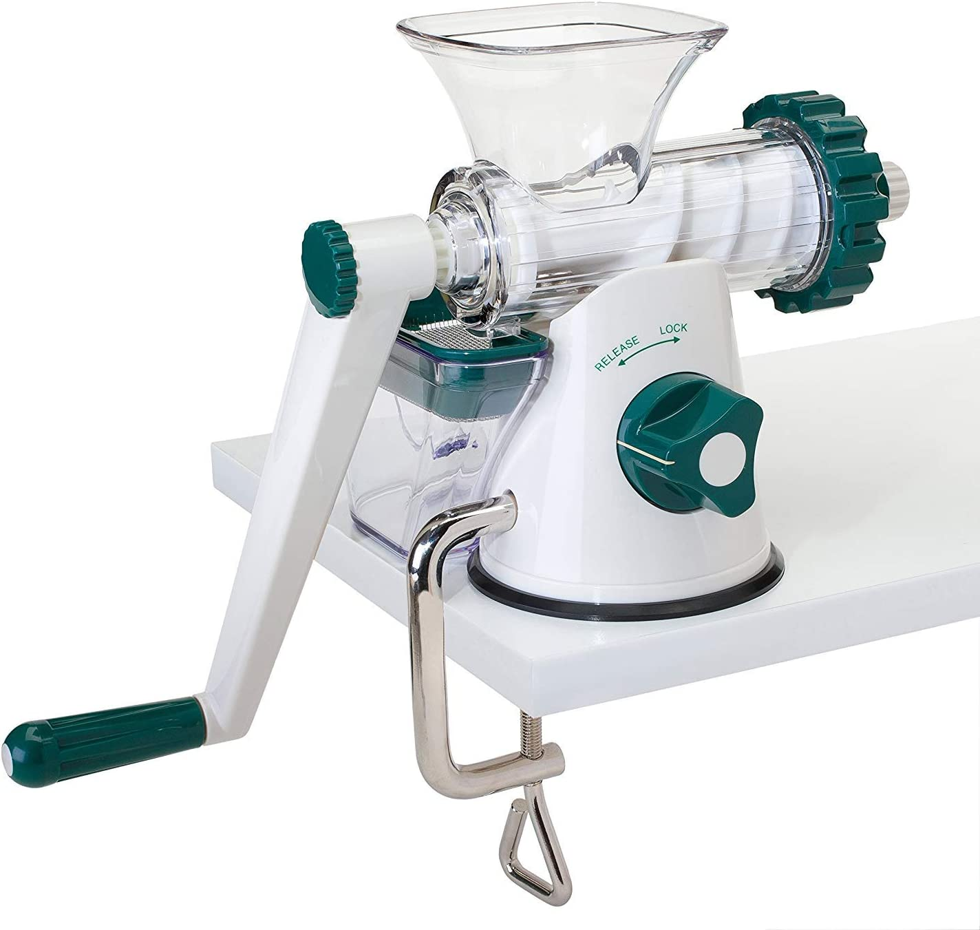 The Original Healthy Juicer (Lexen GP27) for kale