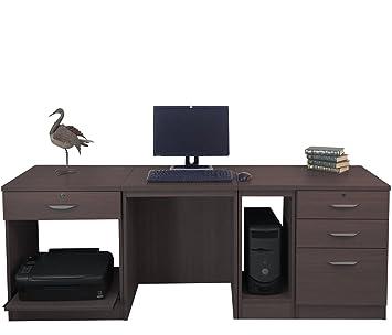Escritorio de Home mobiliario de Oficina UK Mesa de Ordenador con ...
