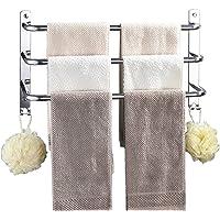 AIDELAI Handdoek Bar Badkamer SUS 304 Rvs Opvouwbare Badhanddoek Plank Handdoekenrek Toilethanddoek Opknoping Muur…