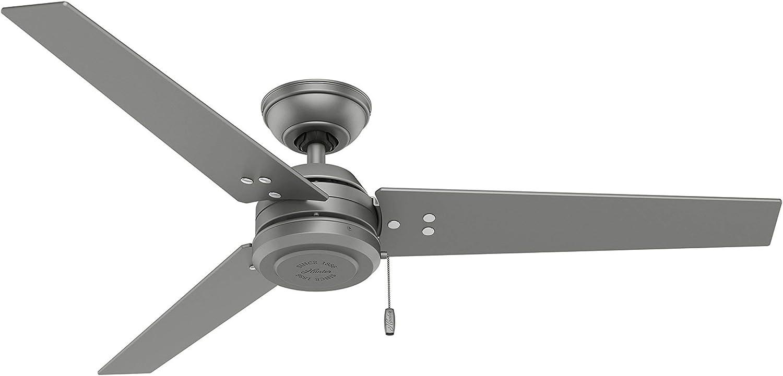 Hunter Fan Company 99302 Matte Silver 18 Downrod for Ceiling Fans,