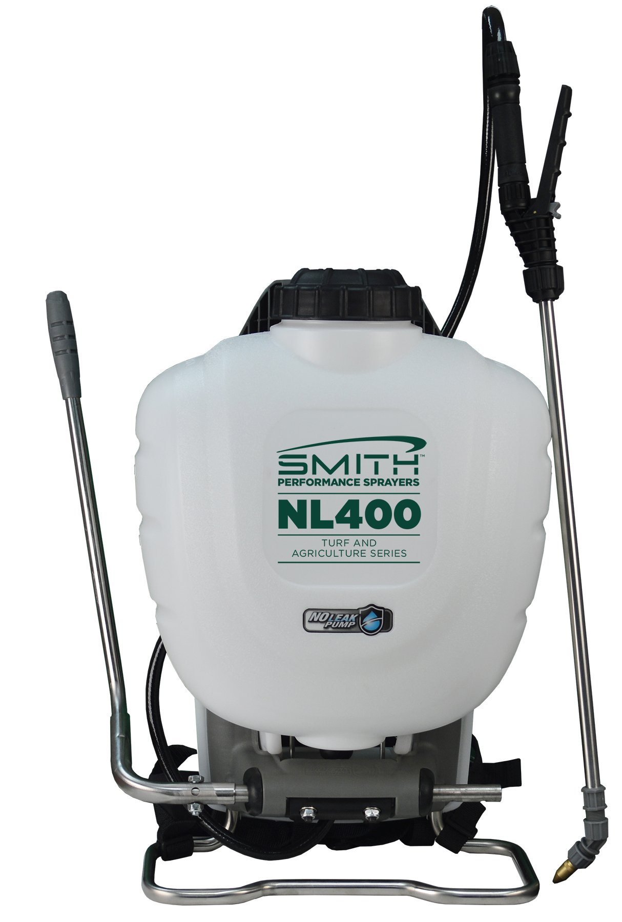 Smith Performance Sprayers NL400 4-Gallon No Leak Backpack Sprayer for Landscapers Applying Weed Killers and Fertilizers by Smith Performance Sprayers