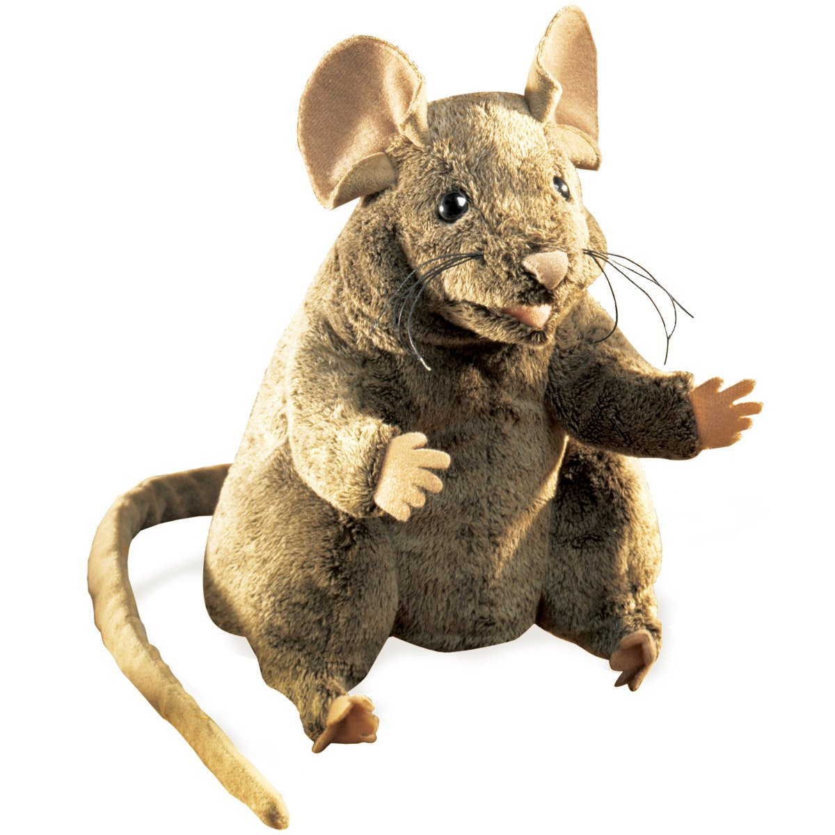 Folkmanis Mouse Hand Puppet, Brown
