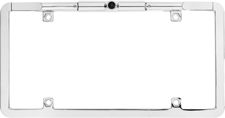 BOYO VTL375HD Black Ultra Slim Full-Frame License Plate HD Backup Camera