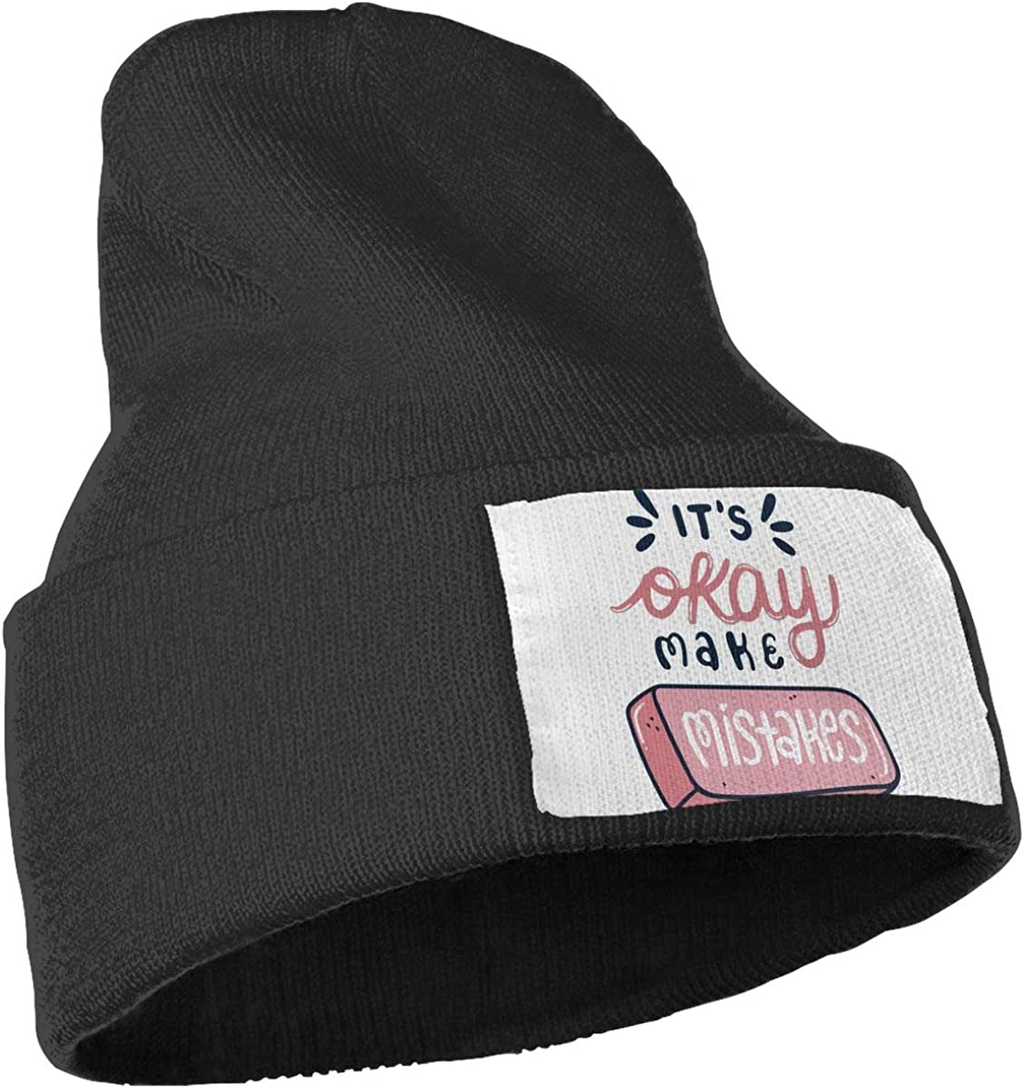 QZqDQ Its Oray Make Mistakes Unisex Fashion Knitted Hat Luxury Hip-Hop Cap