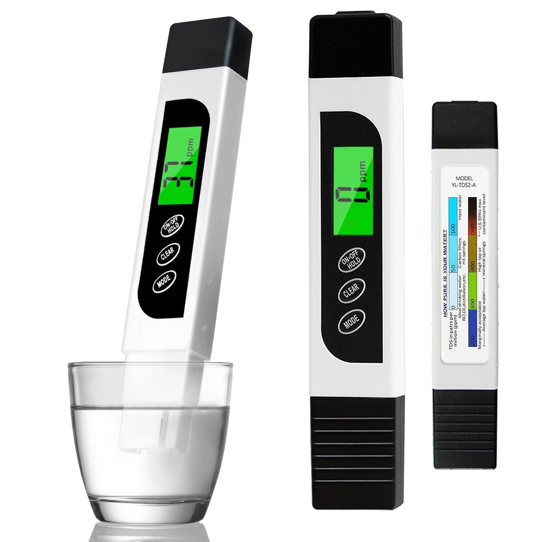 Medidor de TDS y temperatura portátil de Precisión