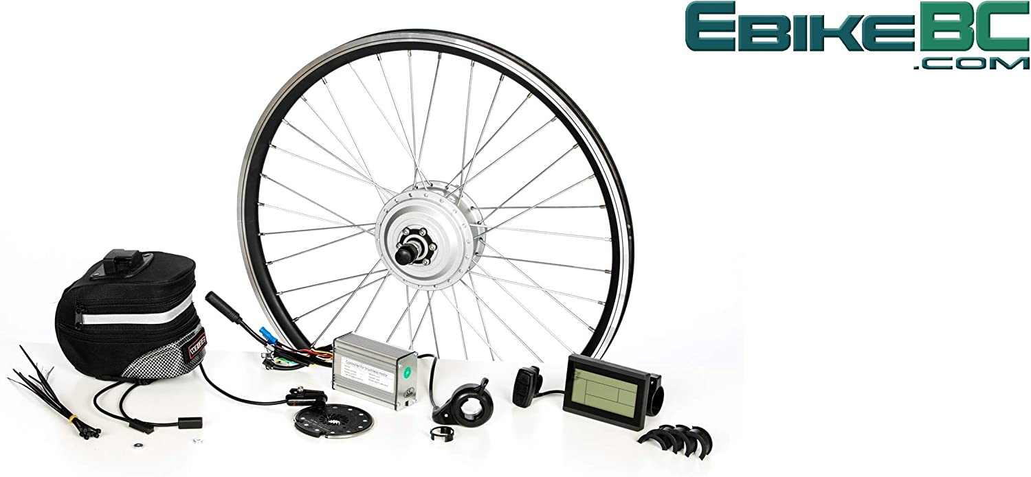 36V 250W 500W Electric Bicycle Motor Kit 27.5 28 29 inch Cycling Motor LCD Meter