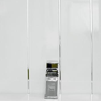 Gloss White Chrome Strip Bathroom Wall Cladding White Shower Panels PVC Ceiling