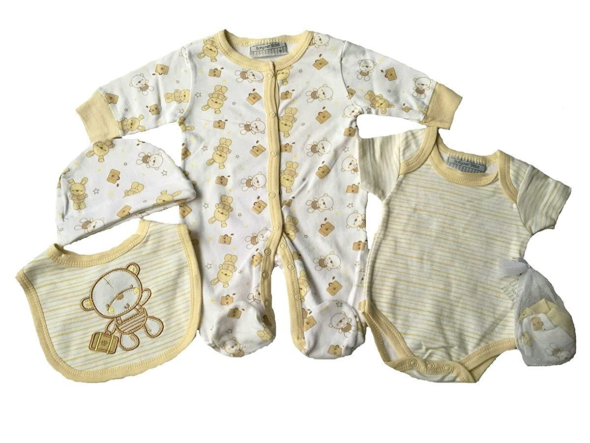 Rockabye Baby - Conjunto - para bebé niña Crema recién Nacido ...