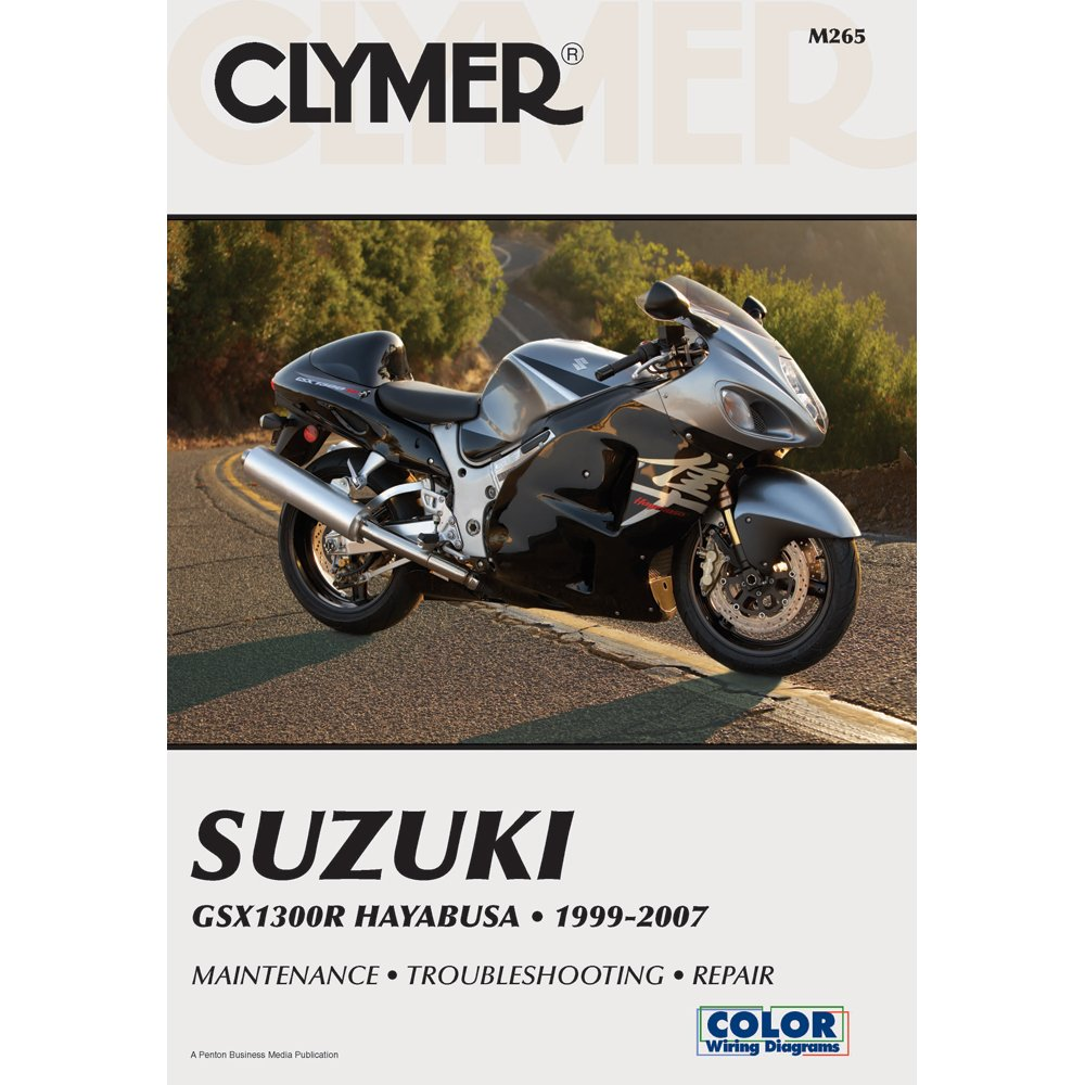 Amazon.com: 1999-2007 CLYMER SUZUKI MOTORCYCLE GSX1300R HAYABUSA SERVICE  MANUAL M265: Manufacturer: Books