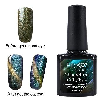 Elite99 soak off chameleon cat eye gel nail polish uv led star elite99 soak off chameleon cat eye gel nail polish uv led star style nail art 10ml prinsesfo Images
