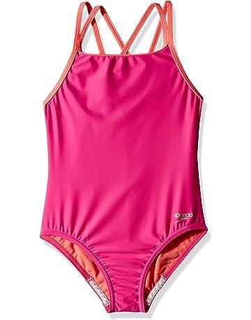 b6fe0d15e66b9 Amazon.com: Girls - Swimwear: Sports & Outdoors: One-Piece Suits ...
