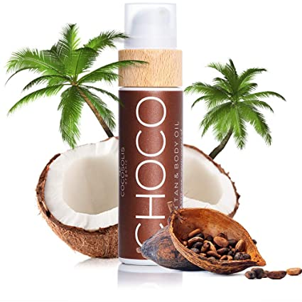 COCOSOLIS CHOCO Sun Tan & Body Oil