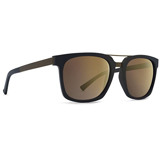 e650e5c597912 Von Zipper Plimpton Black Satin Rust Rust Gradient Sunglasses   Amazon.co.uk  Clothing