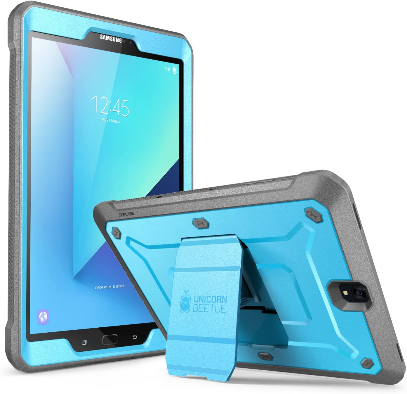 Amazon Com Supcase Galaxy Tab S3 9 7 Case Unicorn Beetle Pro Series Full Body Rugged With Built In Screen Protector Blue Black Sup Galaxy Tabs3 9 7 Ubpro Blue Black Computers Accessories