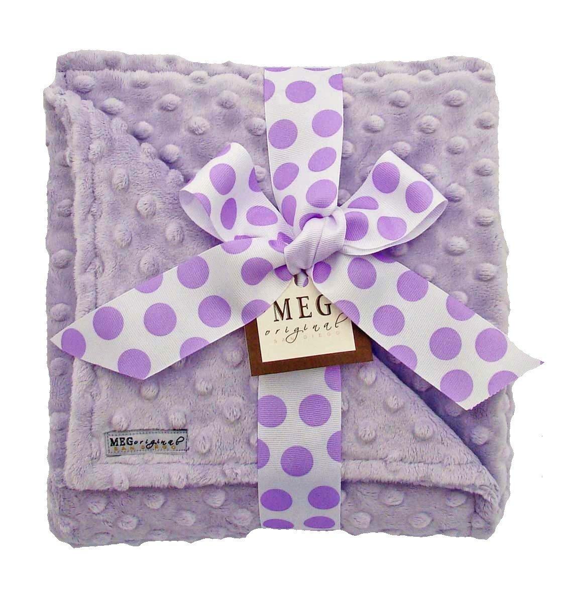 Meg Original Lavender Minky Blanket by MEG Original   B0087SHDQ6
